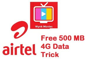 500MB free airtel