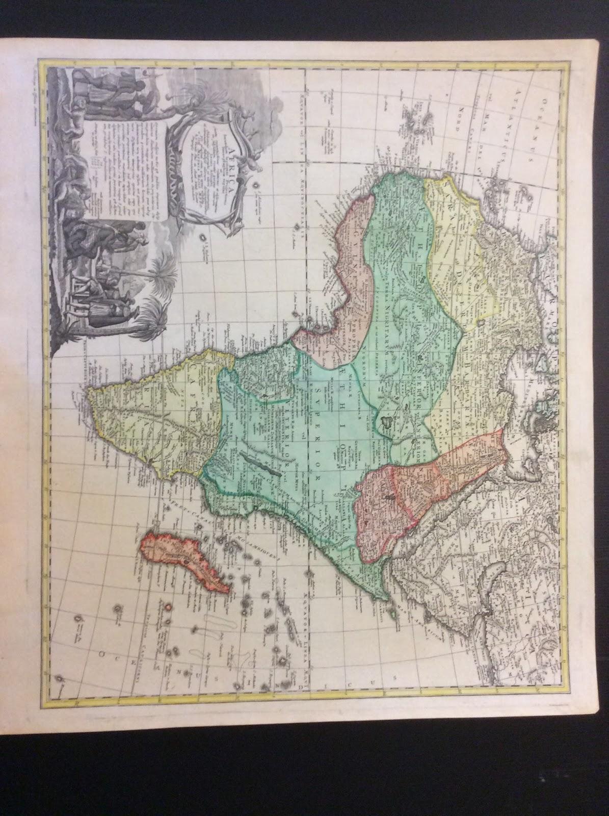 africa by homann heirs