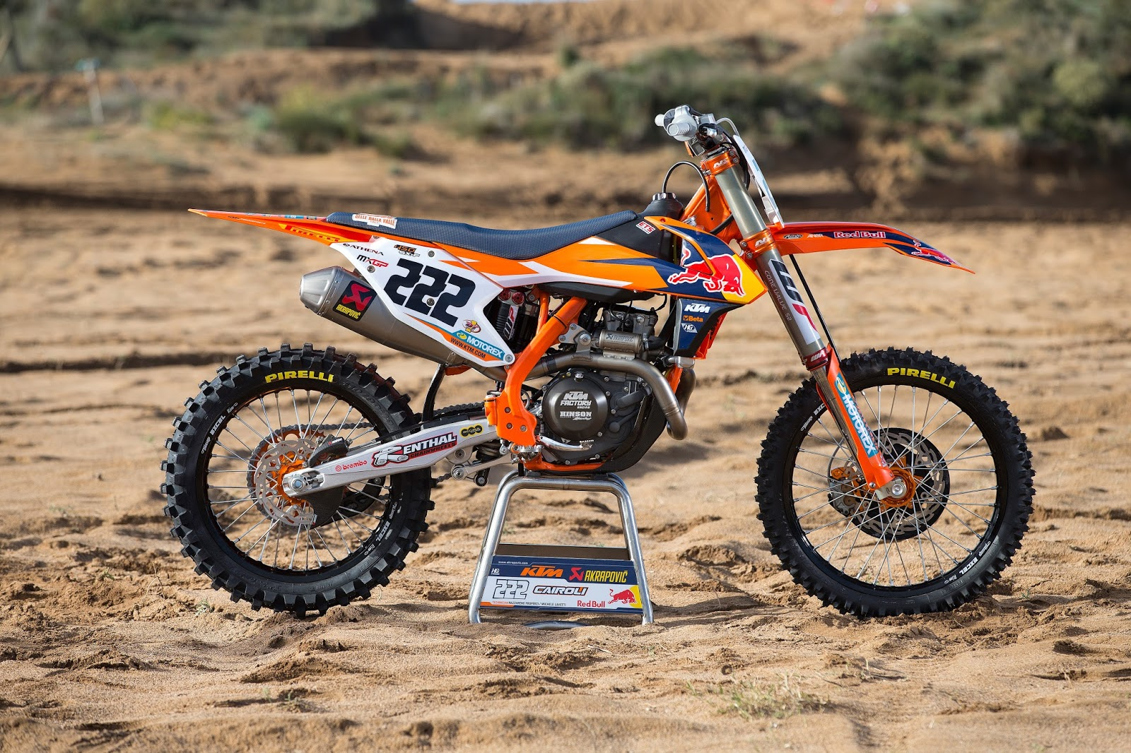 Racing Caf 232 Ktm Sx 450f Team Red Bull Ktm Factory Racing