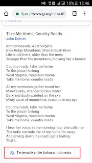 Cara Terjemahkan Lirik Lagu Bahasa Inggris Sekali Klik