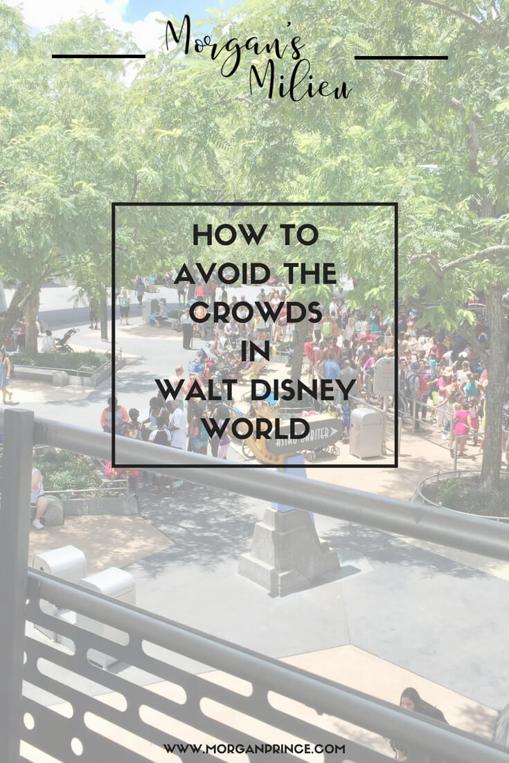 How to avoid the crowds in Walt Disney World