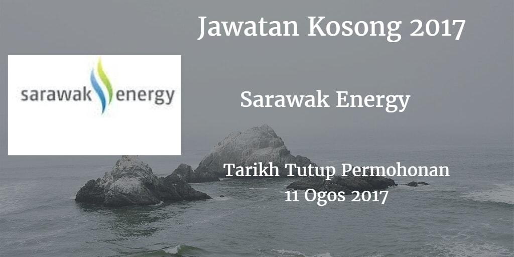 Jawatan Kosong Sarawak Energy 11 Ogos 2017