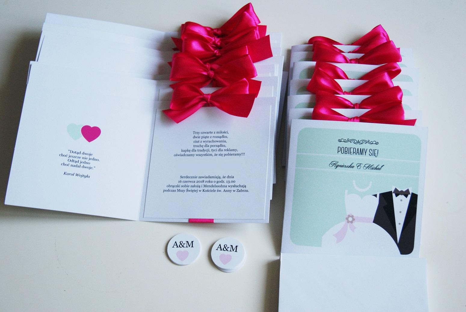 W Ultra Wedding Project - zaproszenia ślubne , Zaproszenia na Ślub OT51