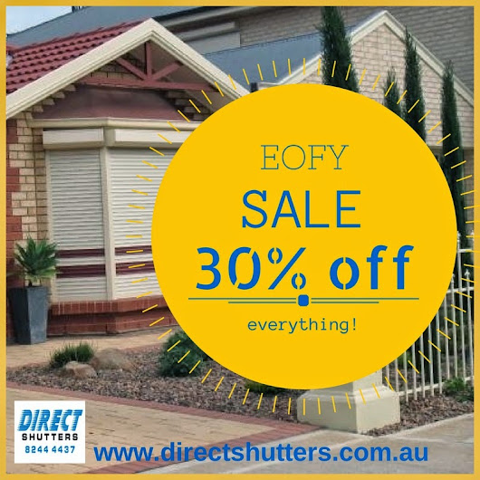 Adelaide Roller Shutters at Discounted Prices!