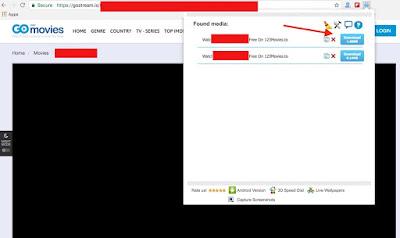 Cara Download Videos di GoStream, 123Movies, GoMovies dan KissAnime