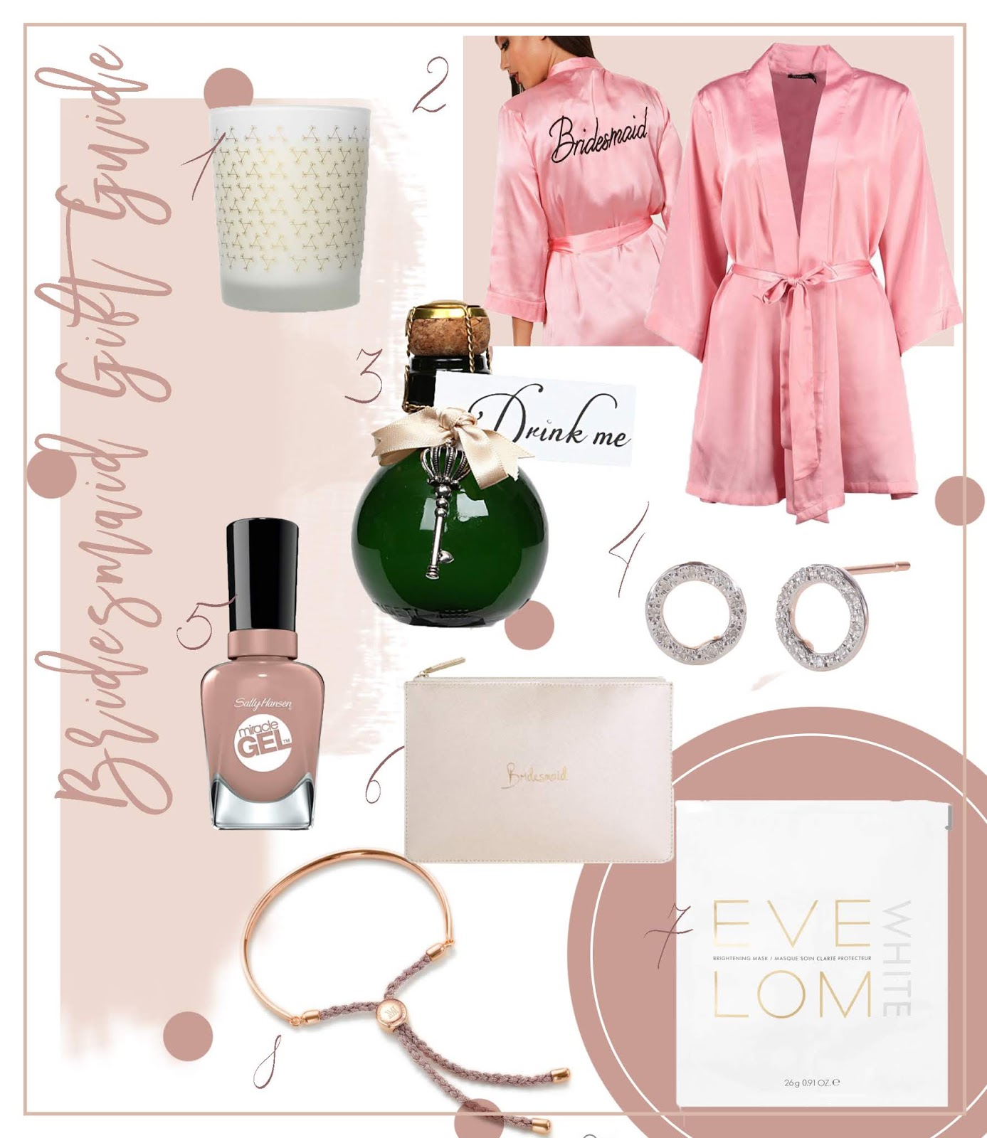 Bridesmaid Gift Guide Be My Bride