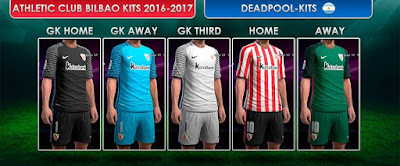 PES 2013 Athletic Bilbao GDB 2016-17 by DEADPOOL-Kits