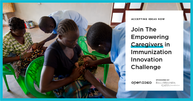 Submit Your Ideas for 'Empowering Caregivers in Immunization Innovation Challenge'