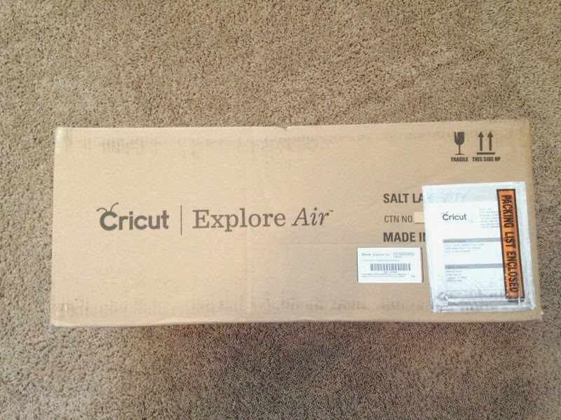 Cricut Explore Air Out of the Box - BOX