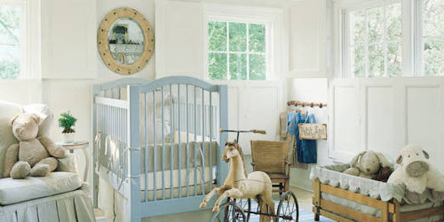 Pamela Pierce designed nursery