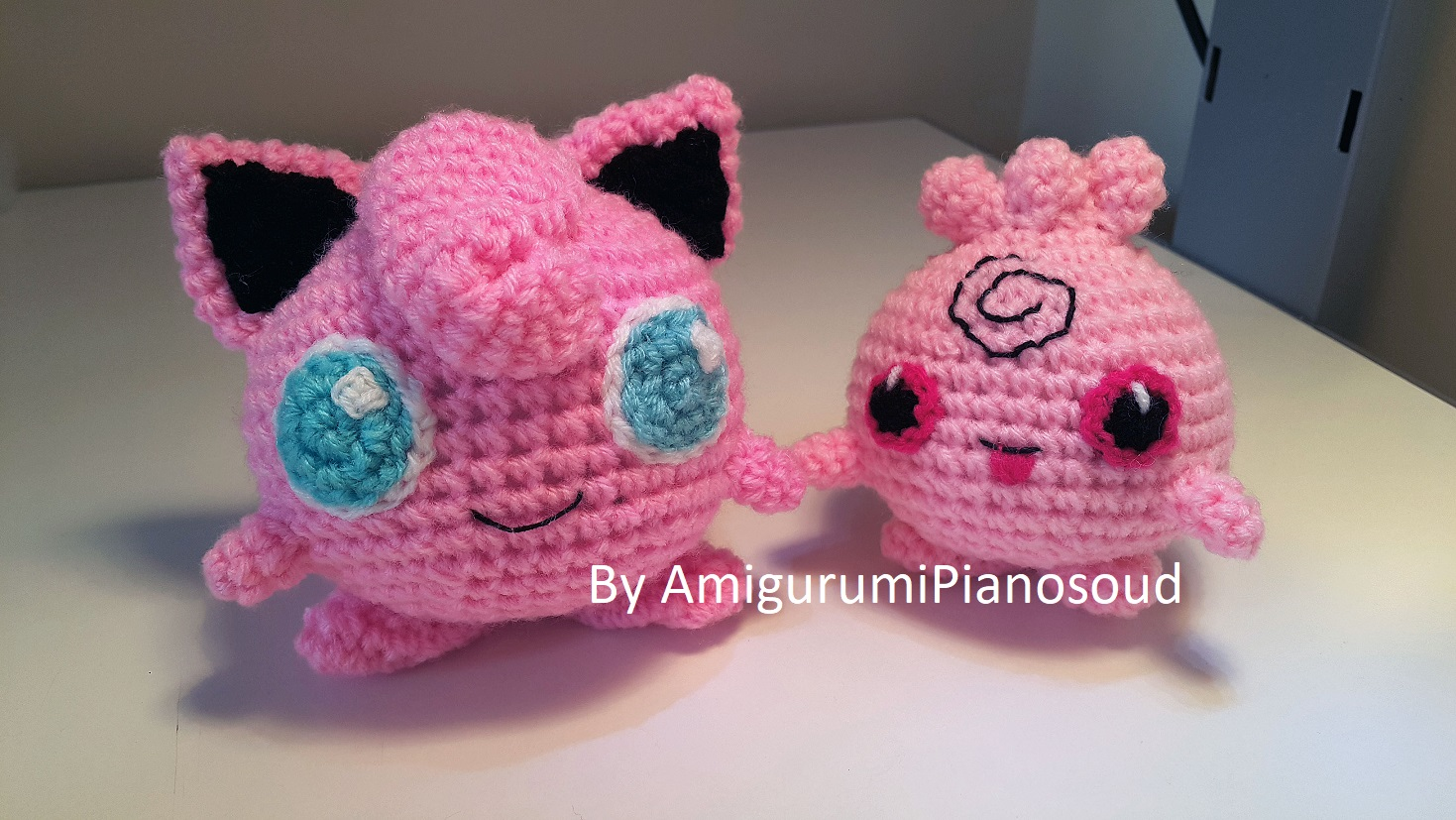 If You Love Jigglypuff, Don't Forget To Check My Free Pattern Of Igglypuff  Too