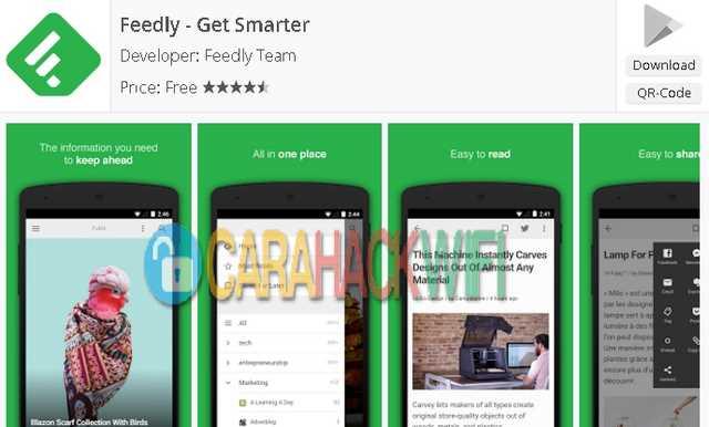 Feedly apss android untuk mahasiswa
