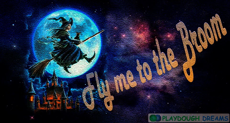 Fly me to the broom