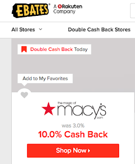 ebates macys, double cash back ebates, ebates stores, ebates tips, how to use ebates