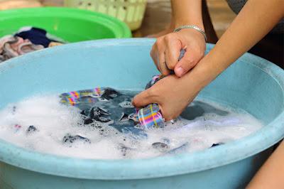 Lavagem do Biquíni