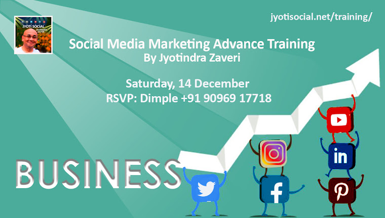 Social Media Marketing Blog by Jyoti