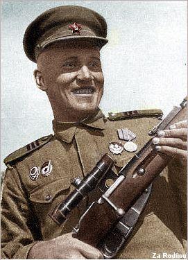 World War II Soviet sniper Medvedev worldwartwo.filminspector.com