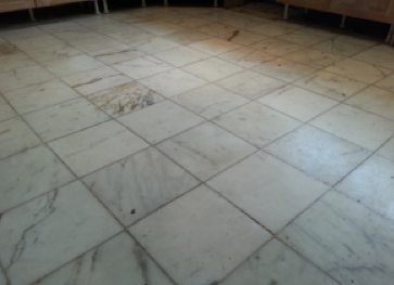 Marble floor restoration and grouting Cambridge ~ Art of