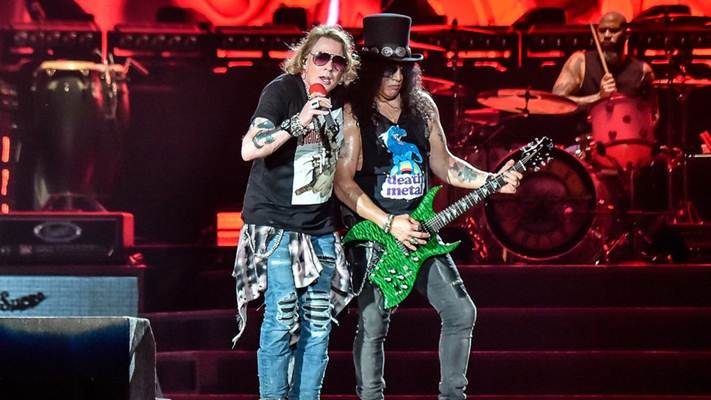 Guns N Roses  di Konser Jakarta 2018