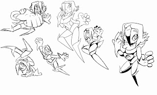 The Art of Demetri DuPart: Action poses, perspective, and
