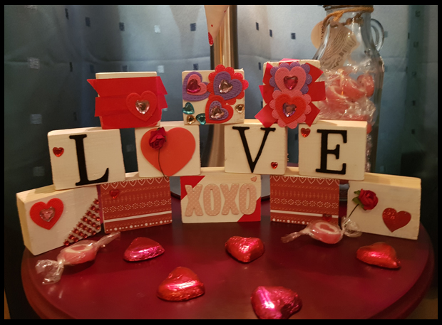 Making Valentine Crafts with Children