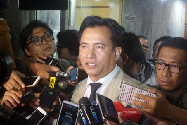 Jejak Yusril Melawan Jokowi, dari Bela Prabowo hingga HTI dan Akhirnya jadi Pengacara Jokowi-Ma'ruf