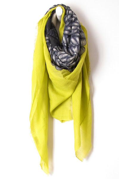 Foulard jaune Mii Pelote
