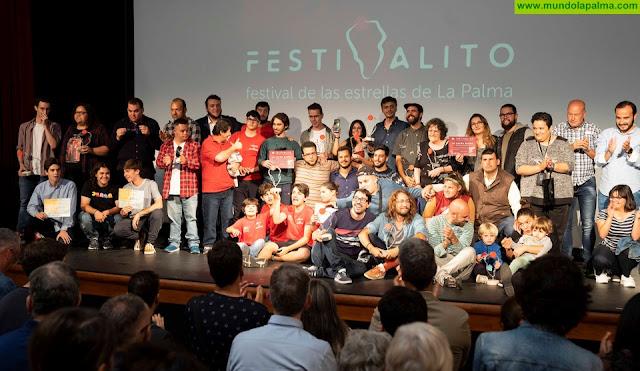 'Palmero', de Víctor Hubara, y 'Punto G', de José Manuel Marrero, se alzaron con la Estrella del XIV Festivalito