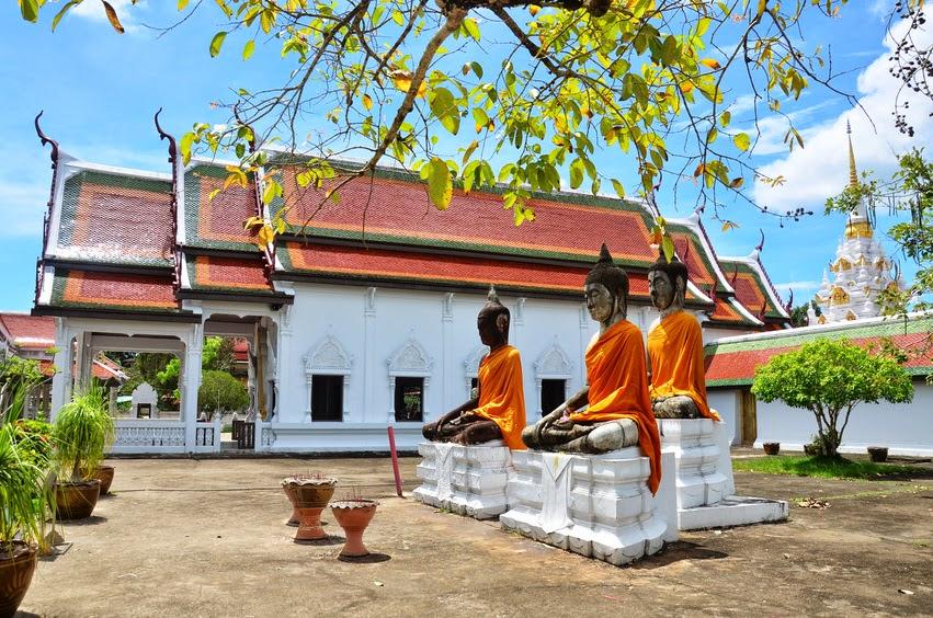Wat Phra Borommathat Chaiya, Thailand