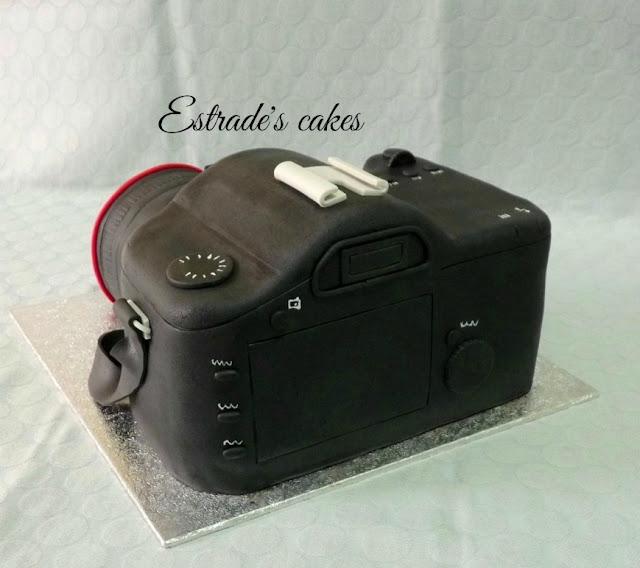 tarta cámara de fotos 5