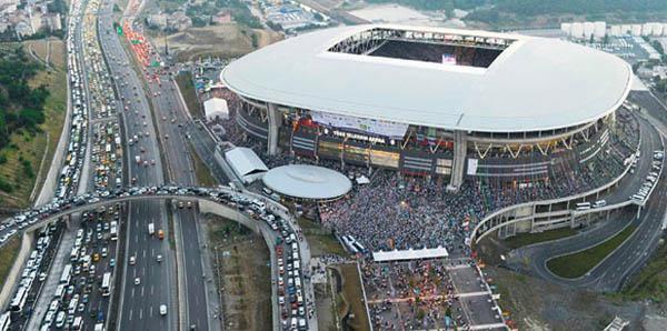 ASY Arena'da ulaşım sorunları çözülmek üzere..