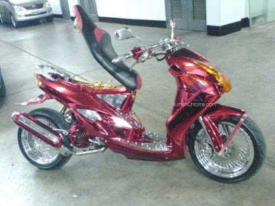 Jasa Chrome Body Motor Jakarta