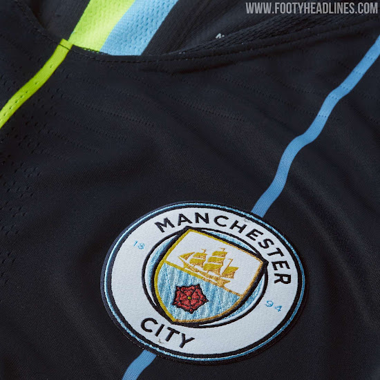 new arrival ba25b b59e2 Manchester City 18-19 Away Kit Released - Footy Headlines