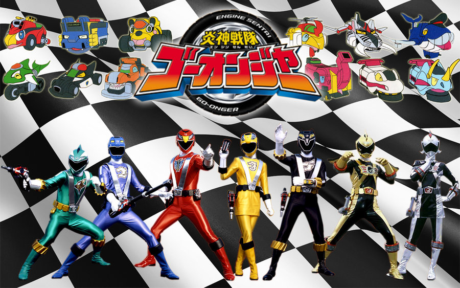 Tokufanatic: Engine sentai go onger