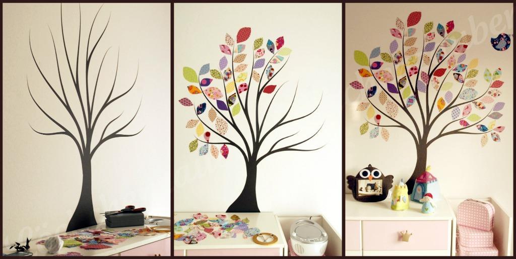Genial Wanddeko Baum Bild Von Wohndesign Stil