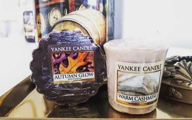 Yankee na jesień 2017 - Warm Cashmere & Autumn Glow - Czytaj więcej »