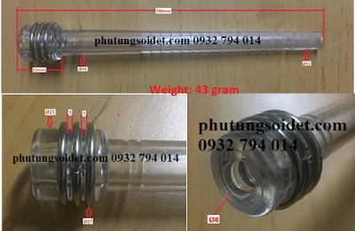 Suốt nhựa- Nylon shuttle tubes