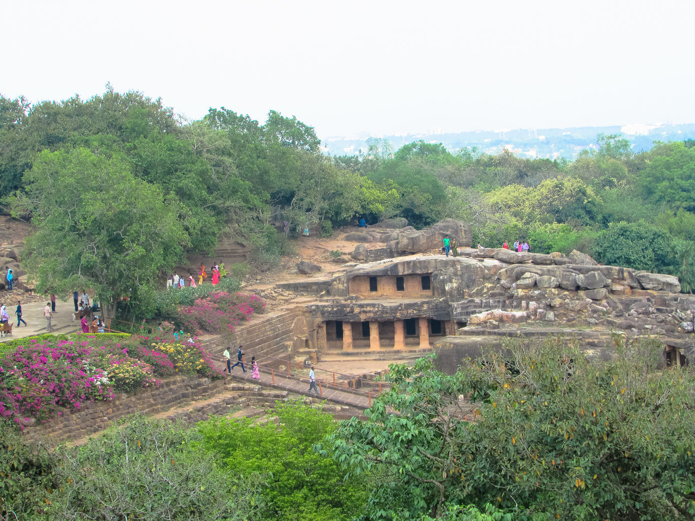 Udaygiri and Khandagiri caves at Bhubaneswar blog @doibedouin