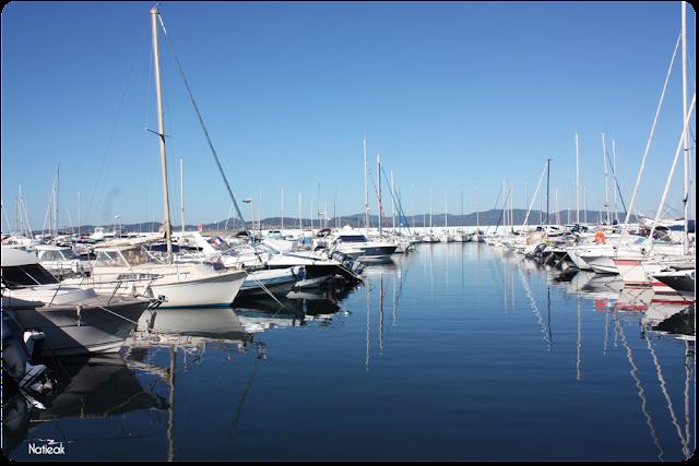 Le port de Santa Maria de Saint-Raphaël