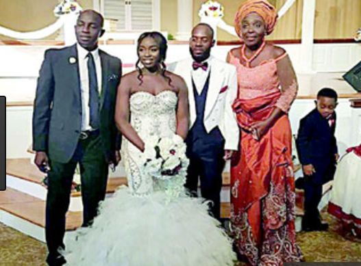 Check In To See Photos from Samson Siasia's Daughter's Wedding in US
