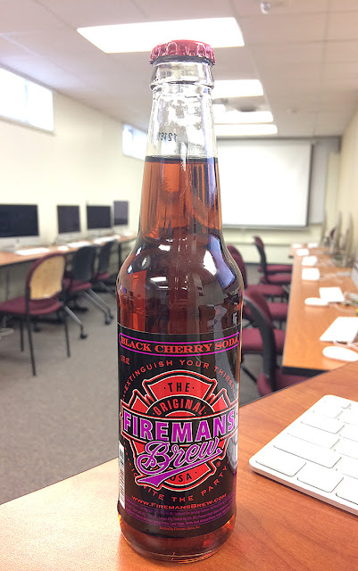 Fireman's Brew Black Cherry Soda