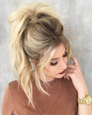 peinado con coleta para el verano