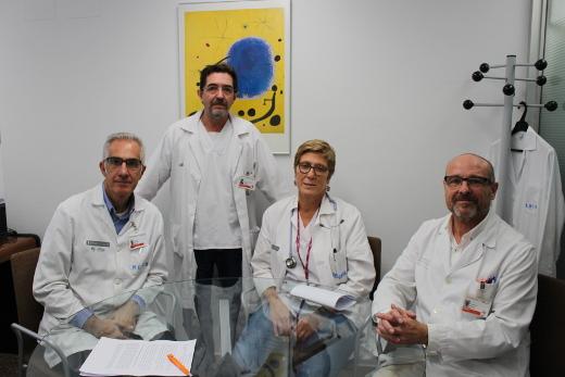 El Hospital Clínico de València crea un equipo de soporte intrahospitalario de cuidados paliativos