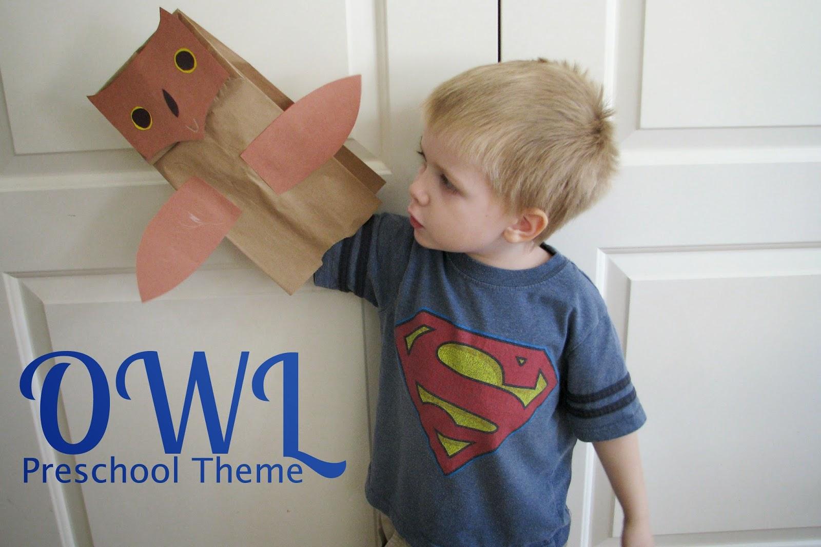 Mommy S Little Helper Owl Preschool Theme