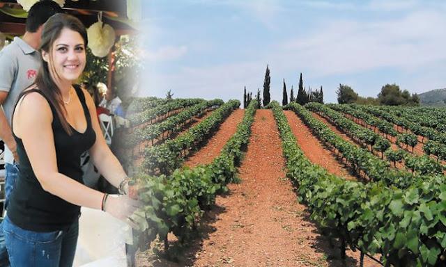 Νεμέα: Η νεαρή οινοποιός που διαχειρίζεται 400 στρέμματα αμπελιού