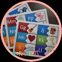 phonics alphabet puzzles