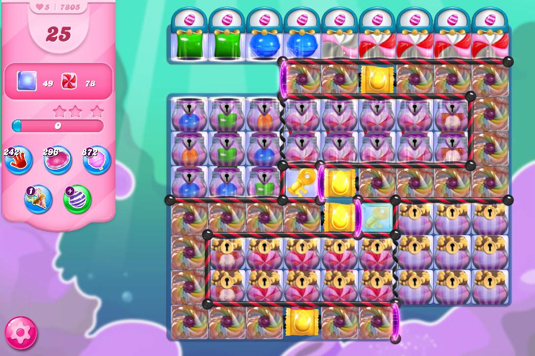 Candy Crush Saga level 7805