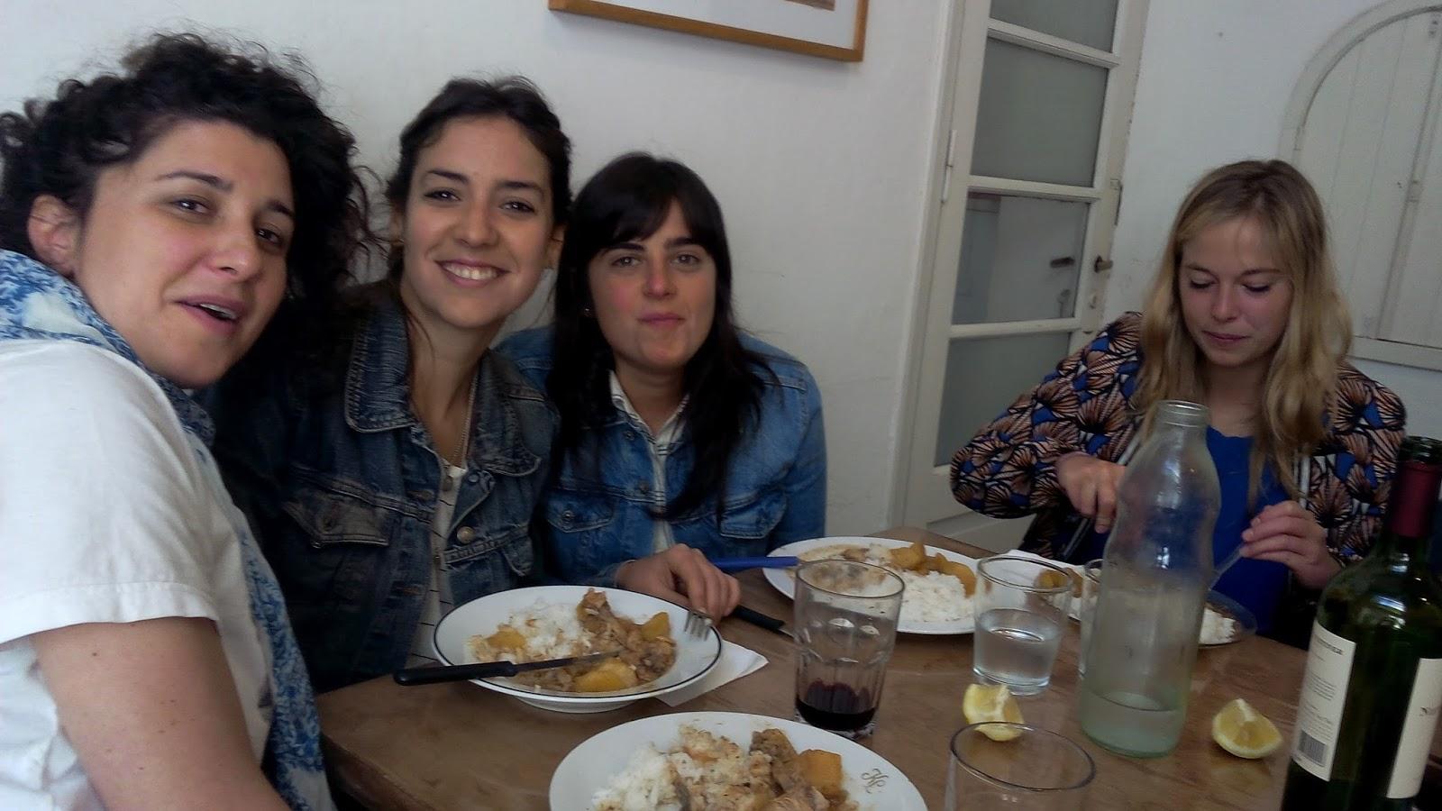 milanesa con papas almuerzo franc s en el galp n