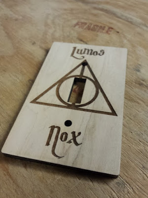 Lumos Nox Light Switch Cover