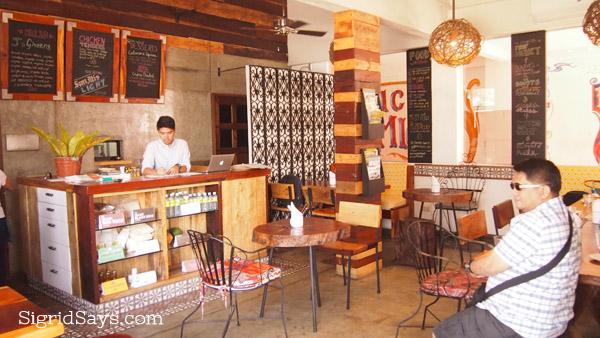Merkado organic restaurant